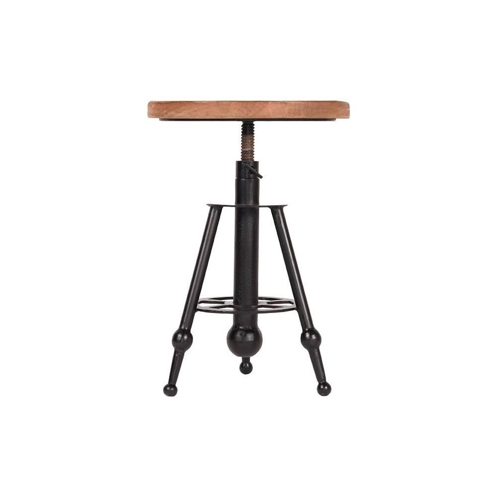LABEL51 Barová stolička z mangového dreva LABEL51 Solid