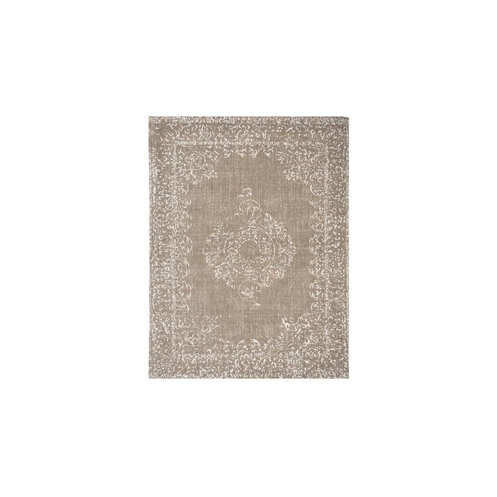 LABEL51 Svetlo-hnedý bavlnený koberec LABEL51 Vintage, 160 x 140 cm